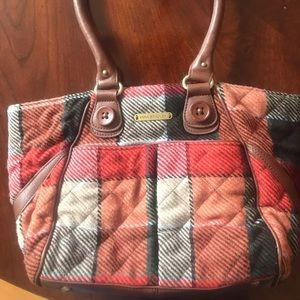 Vera Bradley patchwork handbag